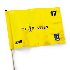 The Players Championship 2015 Flag - Hole 17