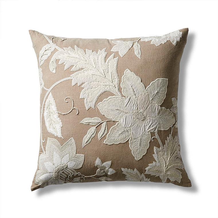 Decorative Pillows With Zippers : Hidden Zipper Plush Decorative Pillow - Frontgate