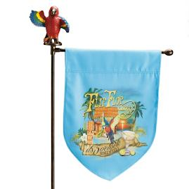 Margaritaville Flip Flop Repair Shop Garden Flag