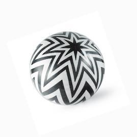 Zion Zigzag Stone Ball by Porta Forma