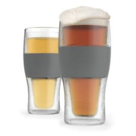 Freeze Cooling Pint Glass, Set of Two