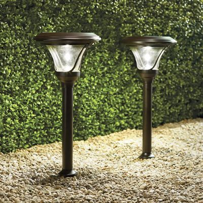 Pro Series Vi Solar Path Lights Frontgate