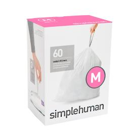 Simplehuman 45-liter Rectangular Step Trash Can Liners
