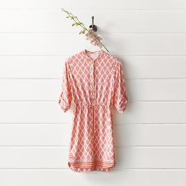 Nantucket Sound Button Dress