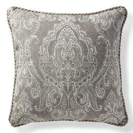 Bordeaux Linen Slate Outdoor Pillow