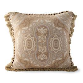 Aubusson Brush Fringe Decorative Pillow