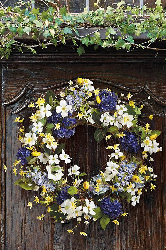 Westerly Village Wreath Frontgate