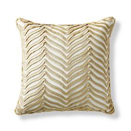 Eyelash Chevron Sand Outdoor Pillow