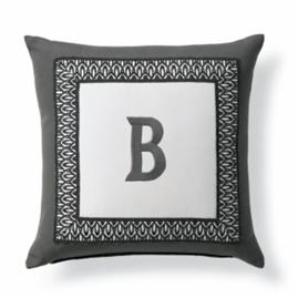 Tortola Monogram Outdoor Pillow