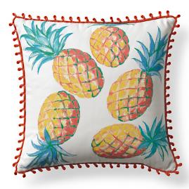 Pineapple Grove Outdoor Pillow