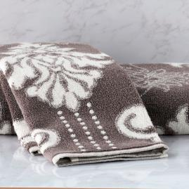 Blythe Two-tone Damask Bath Collection in Orchid