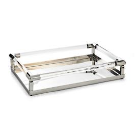 Deco Glass Tray by Porta Forma