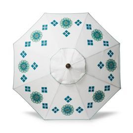 Suzani Handpainted Designer Umbrella