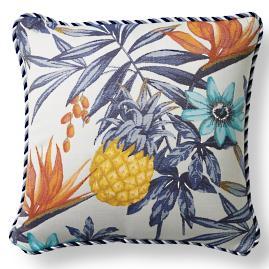 Margaritaville Wailua Indigo Outdoor Pillow
