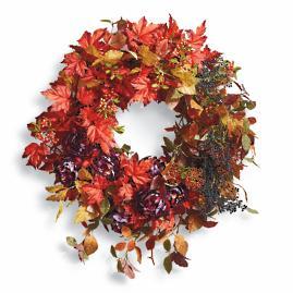 Fall Rhapsody Wreath