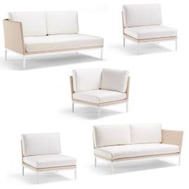 Palazzo Shell 5-pc. Modular Set by Porta Forma