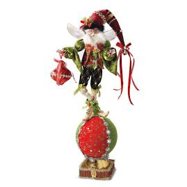 Mark Roberts Ornament Maker Fairy Stocking Holder
