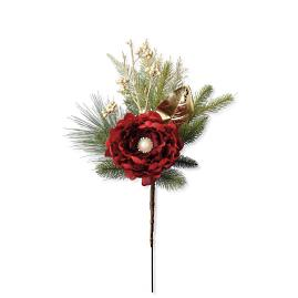 Parisian Christmas Small Tree Bouquets, Set of Six