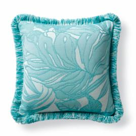 Island Leaves Aruba Outdoor Pillow