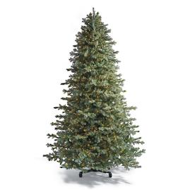 Grand Blue Spruce Inversion Artificial Pre-lit Christmas Tree