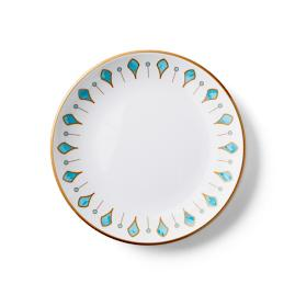 Donatella Capri Melamine Salad Plates, Set of Four