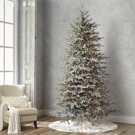 Diamond Dust Artificial Pre-lit Artificial Christmas Tree