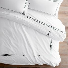 Fretwork Duvet Cover