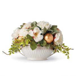 Tea Garden Centerpiece in Creamware