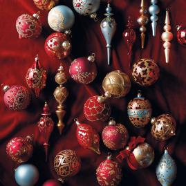 Parisian Christmas 60-pc. Ornament Collection