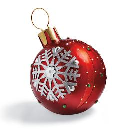 Red Fiber-optic Ornament