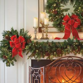 Grand Majestic Cordless Flexible Garland