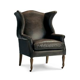 Henry Upholstered Chair in Wolf