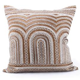 Chareau Embroidered Decorative Pillow by Bliss Studio