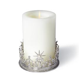 Warwick Crown Candle Holder with Wine Coaster
