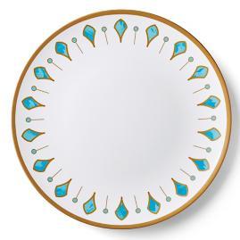 """Donatella Capri Melamine 17"""" Round Platter"""
