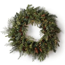 Blue Ridge Mountain Wreath