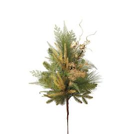 Shades of Gold Medium Tree Bouquets, Set of