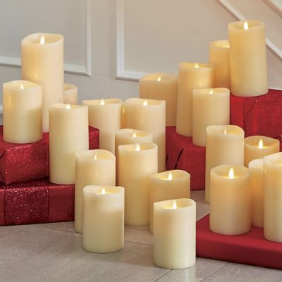 360 View Ivory Dream Candle Frontgate