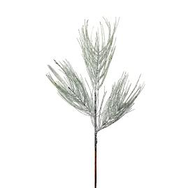 Frost and Mica Pine Sprays, Set of 12