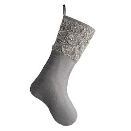 Diamond Floral Stocking