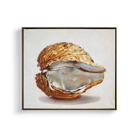 Oyster Double Shell Wall Art