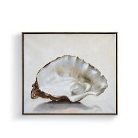 Single Oyster Shell Wall Art