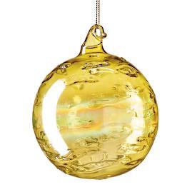 "Jim Marvin 5"" Art Glass Ornaments, Set of"