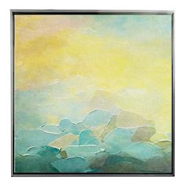 Warming Light Framed Outdoor Canvas