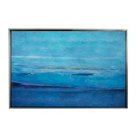 Ocean Blue II FramedOutdoor Canvas