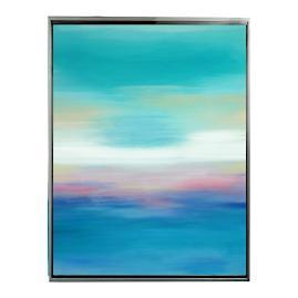 High Seas I Framed Outdoor Canvas