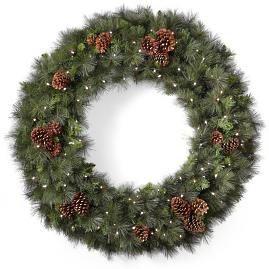 Grand Mixed Pine Wreath