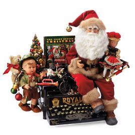 Karen Didion One-of-a-Kind Royal Christmas Santa