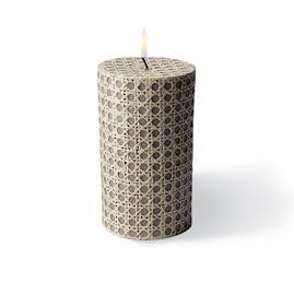 Rattan Pillar Candle