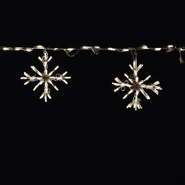 Blizzard Snowflake Lights, Set of Two